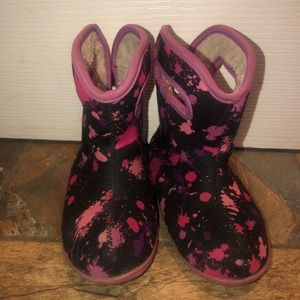 Girls 10T Bogs Winter Boots